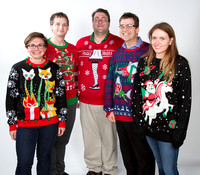 Biology Dept. Ugly Christmas Sweaters 2017